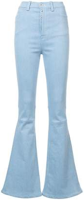 Unravel Project high waist flared jeans