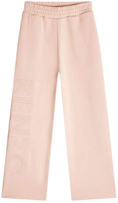 Kenzo Cropped Cotton Sweatpants