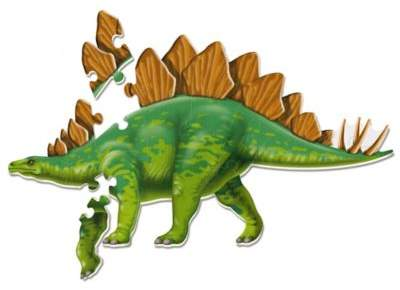 Learning Resources® Jumbo Stegosaurus Puzzle in Green