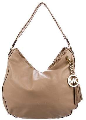 MICHAEL Michael Kors Leather Large Hobo