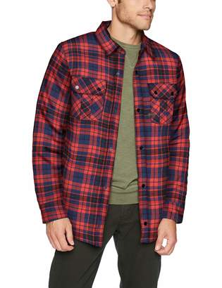 Volcom Men's Sherpa Flannel Snow Jacket