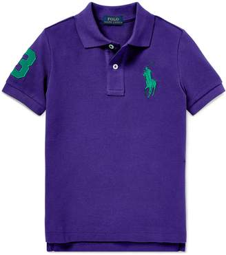 Ralph Lauren Childrenswear Short Sleeve Knit Polo Shirt