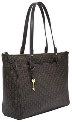 Fossil Rachel Tote Handbags Black/Brown