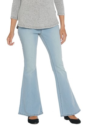 G.I.L.I. Got It Love It G.I.L.I. Petite Dual Stretch Flare Leg Jeans