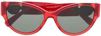 Versace Eyewear logo embellished sunglasses