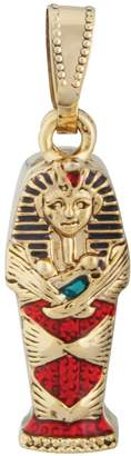 Summit Egyptian King Tut Coffin Pendant Jewelry Accessory Egypt Necklace Art