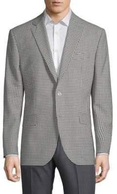 Jack Victor Conway Gingham Wool Jacket