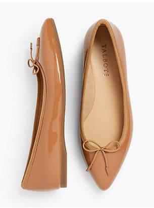 Talbots Poppy Ballet Flats - Patent Leather