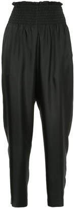ASTRAET high-waist fitted trousers