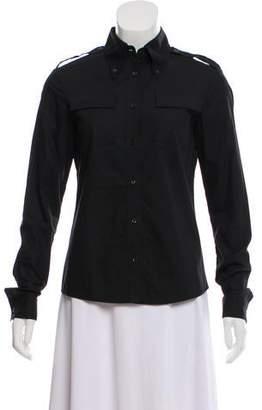 Katharine Hamnett Long Sleeve Button-Up Top
