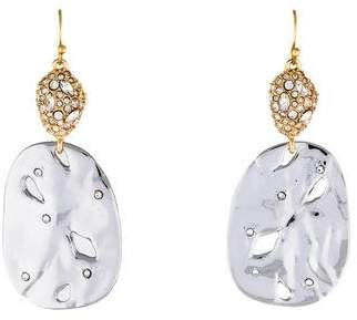 Alexis Bittar Pavé Pod & Rocky Disc Drop Earrings
