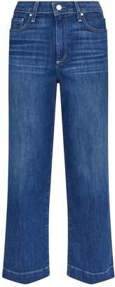 Paige Nellie Wide-Leg Crop Jeans