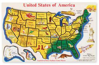Melissa & Doug Large Usa Map