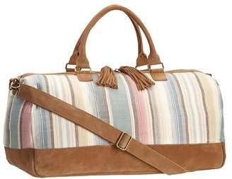 Pottery Barn Teen Junk Gypsy Wanderer Duffle Bag