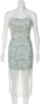 Christian Siriano Embellished Evening Dress w/ Tags