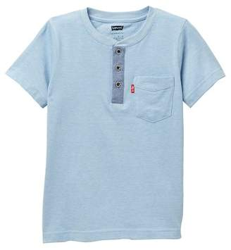 Levi's Harp Henley Tee (Little Boys)