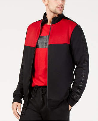 Kenneth Cole New York Men's Zip-Front Colorblocked Jacket