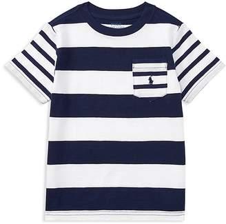 Polo Ralph Lauren Boys' Striped Cotton Jersey Tee - Little Kid