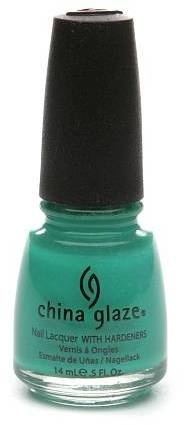 China Glaze Neon Nail Lacquer with Hardeners