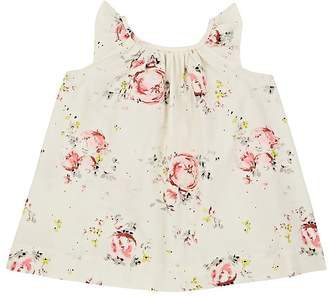 Bonpoint Infants' Amande Floral Cotton Poplin Dress