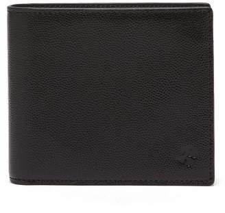 WANT Les Essentiels Benin Pebble Grain Leather Bi Fold Wallet - Mens - Black