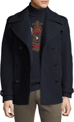 Ralph Lauren Men's Wool/Cashmere Pea Coat