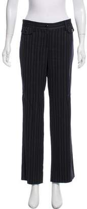 Dolce & Gabbana Striped Wide-Leg Pants