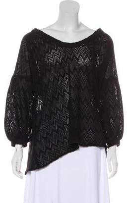 Anna Sui Knit Long Sleeve Sweater