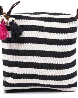 JADEtribe Striped Valerie Bag