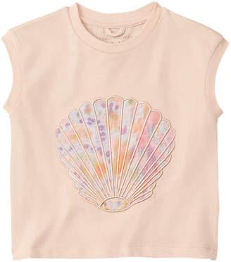 Stella McCartney Silk-Blend T-Shirt