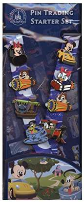 Disney Pin Starter Set - Baby Characters in Vehicles 2014 Pins & Lanyard - 100502