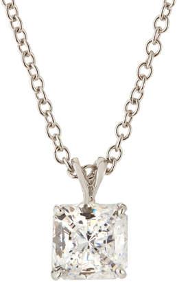 FANTASIA Princess-Cut CZ Pendant Necklace