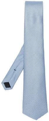 HUGO BOSS micro pattern tie