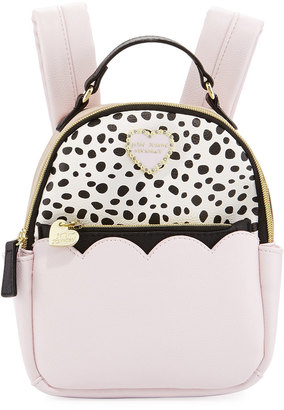 Betsey Johnson Colorblock Zip-Around Mini Backpack $64 thestylecure.com