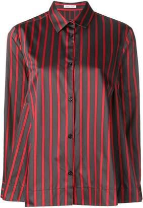 Peter Taylor striped long-sleeve shirt