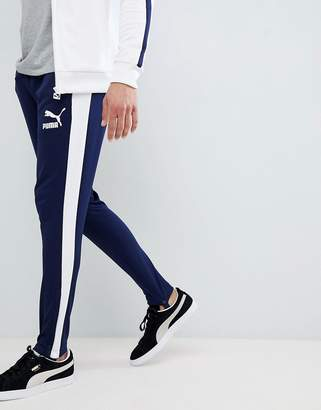Puma T7 Vintage Joggers In Navy 57498706