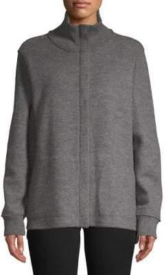 Eileen Fisher Turtleneck Wool Jacket