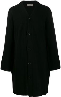 Yohji Yamamoto knit cardi coat