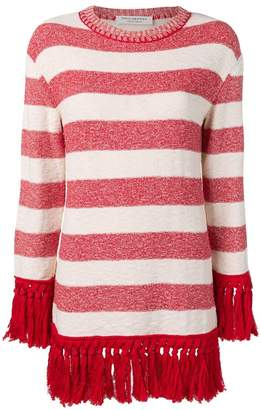Philosophy di Lorenzo Serafini striped sweater dress