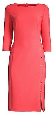 BOSS Women's Dikena Ponte Sheath Dress