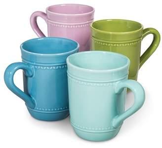 Camille Solid Coffee Mug Set 4pk - Multicolored
