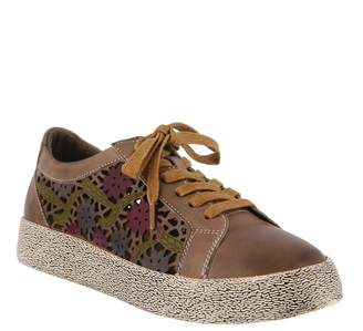 Spring Step L'Artiste by Leather Sneakers - Mea