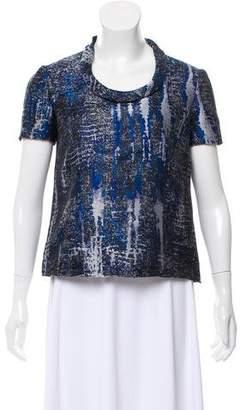 Stella McCartney Patterned Short Sleeve Top