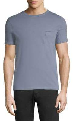 Officine Generale Cotton Touch Pocket Tee