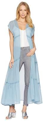 Betsey Johnson Prairie Girl Sleeveless Duster Women's Clothing