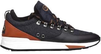 Barracuda Blue Sneakers With Hook