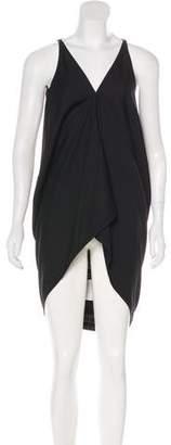 Rick Owens High-Low Midi Dress