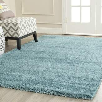 Blue Area Zipcode Design Starr Hill Aqua Rug