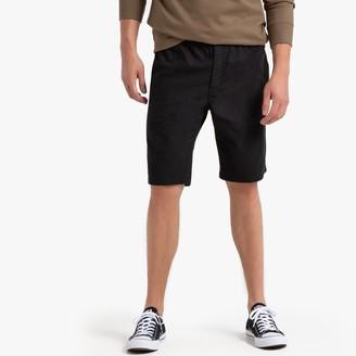 La Redoute COLLECTIONS Elasticated Waist Cotton Bermuda Shorts