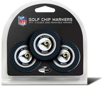 Kohl's Team Golf St. Louis Rams 3-pack Poker Chip Ball Markers
